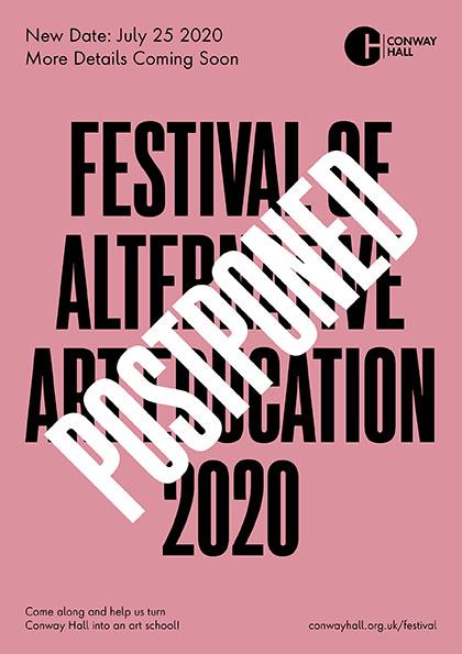 Festival of Alternative Art Education Postponed