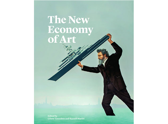 The New Economy of Art publication cover by Jeremy Deller